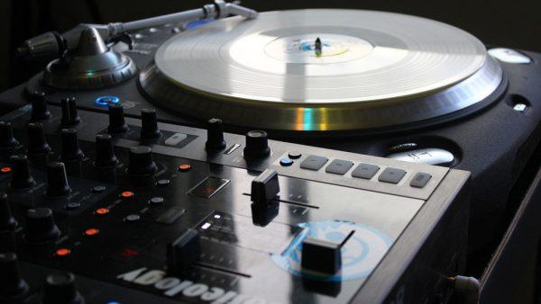 DJ Turntable Mixer